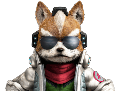 Sticker other starfox mc cloud james zero wii u reboot pere papa daron chef fier sourire lunettes soleil sunglasses armee militaire classe cool renard furry tinnova