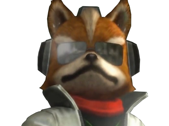 Sticker other starfox mc cloud james zero wii u reboot pere papa daron chef fier serieux regard haut look up determine pret lunettes soleil sunglasses armee militaire classe cool renard furry tinnova
