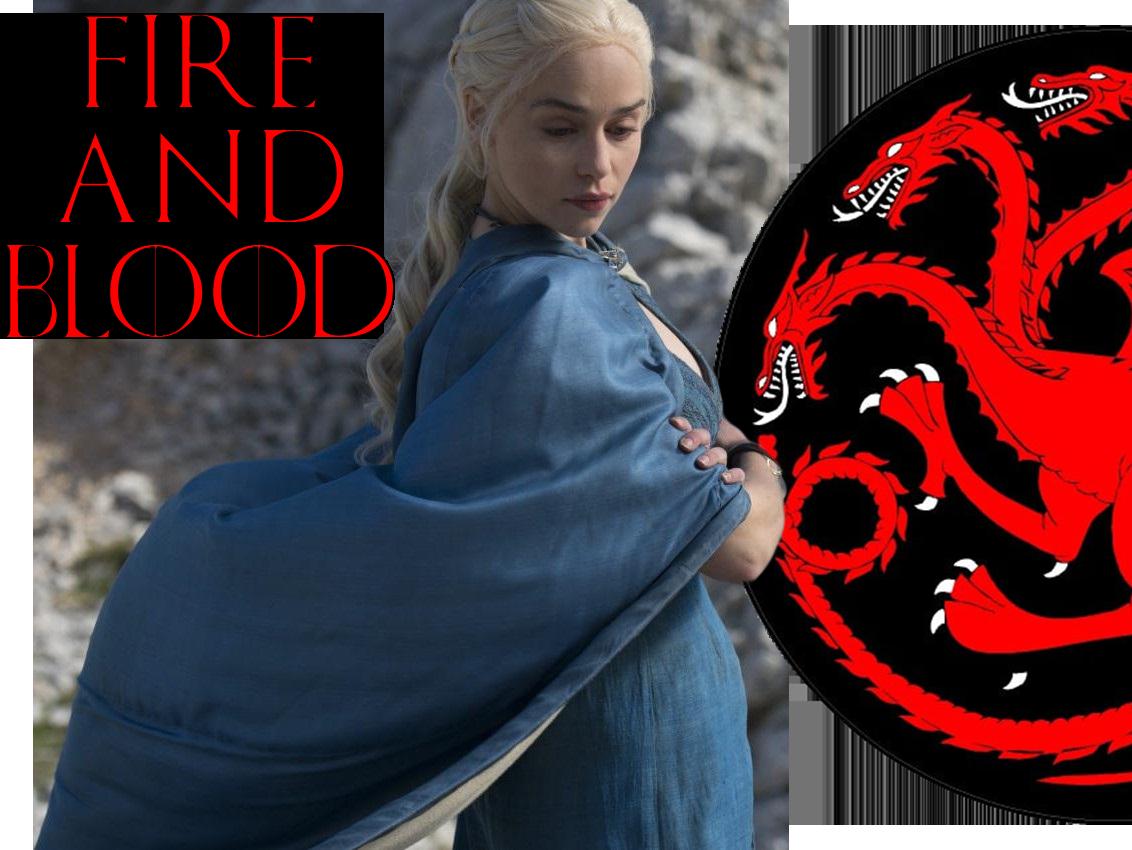 Sticker other daenerys got targaryen fire and blood