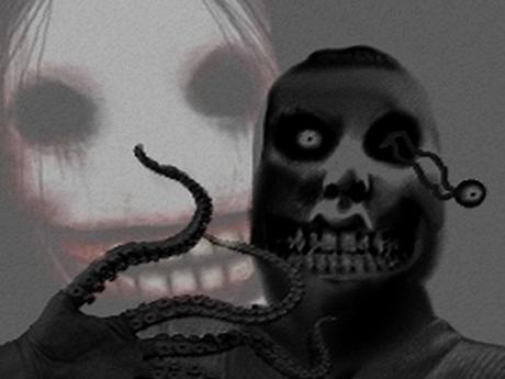 Sticker issou risitas monstre creepy