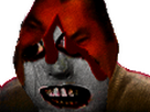 Sticker issou creepy risitas