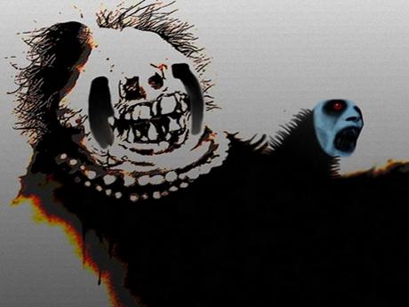 Sticker risitas creepy monstre anormal horreur