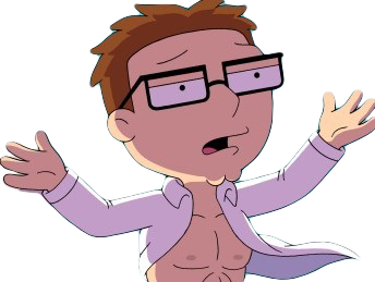 Sticker other steve smith american dad