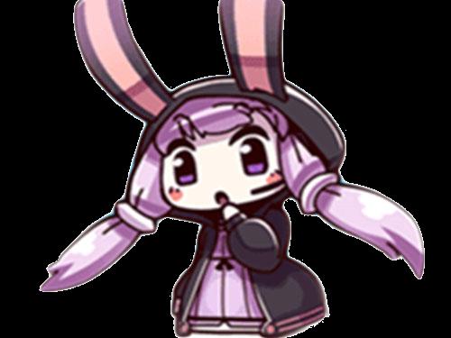 Sticker kikoojap yuzuki yukari vocaloid violet surprise hein what
