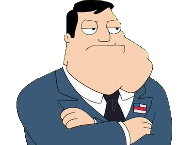Sticker other stan smith american dad
