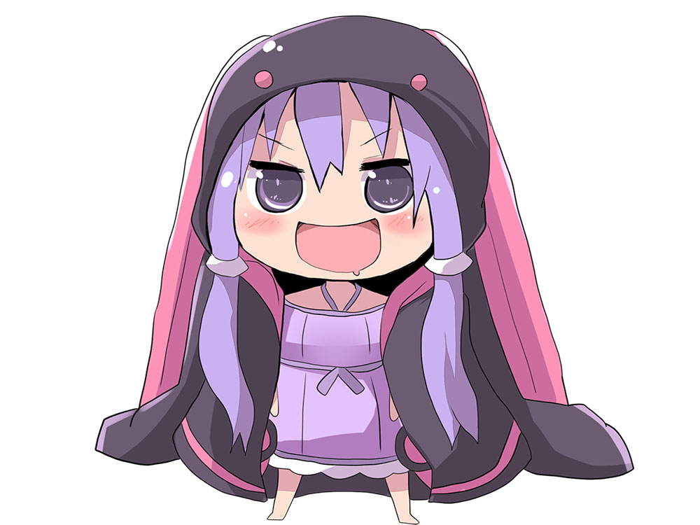 Sticker kikoojap yuzuki yukari vocaloid violet yuzukimaru umaru kawaii