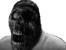 Sticker issou creepy risitas monstre