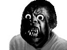 Sticker issou horreur risitas creepy