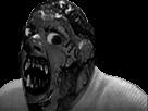 Sticker risitas creepy issou horreur