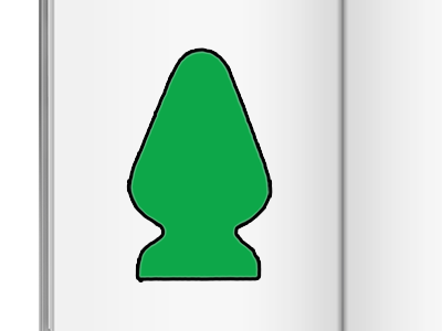 Sticker other cahier livre coloriage plug vert