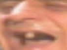 Sticker risitas goudja zoom couniao dent bouche ouverte rire