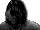 Sticker creepy monstre risitas langue
