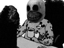 Sticker issou ordinateaur risitas creepy