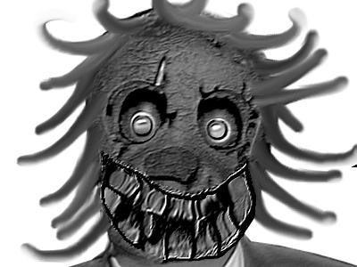 Sticker risitas philippot creepy monstre