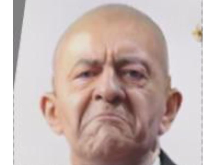 Sticker politic jean luc melenchon insoumis petit bras facho