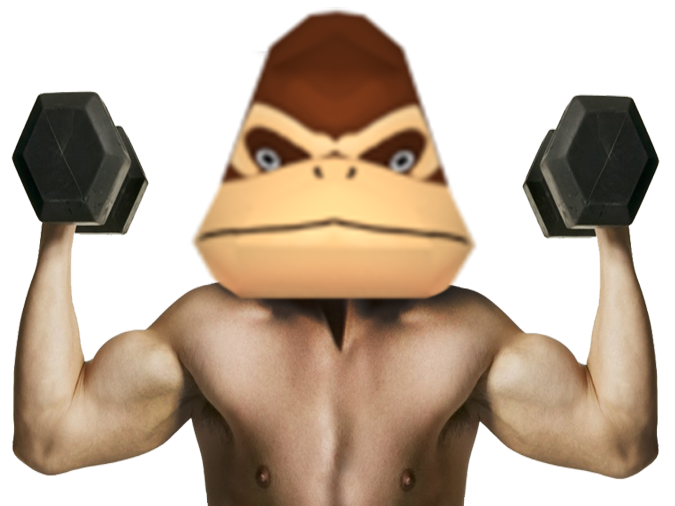 Sticker other donky cong go muscu