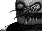 Sticker risitas issou creepy monstre tentacule