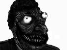 Sticker risitas jesus creepy monstre