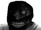 Sticker risitas creepy smile
