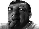 Sticker risitas tumeur monstre creepy