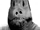 Sticker risitas creepy monstre issou horreur