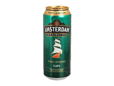Sticker risitas alcool biere amsterdamer maximator