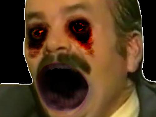 Sticker risitas creepistas zombie peur aya eussou horreur monstre