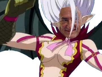 Sticker politic mirajane dsk fairy tail politique kikoojap shonen manga issoul satan boobs