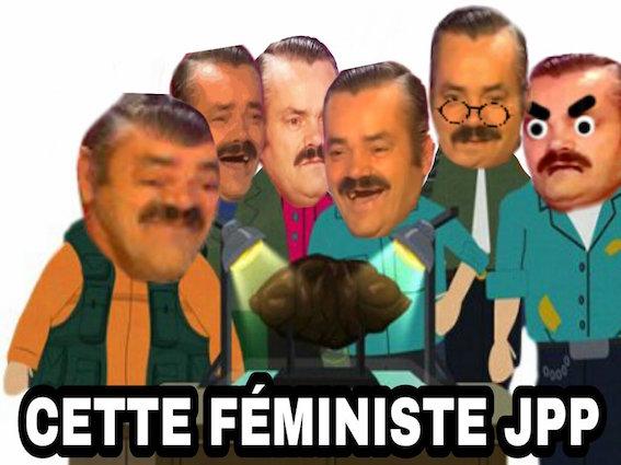 Sticker south park feminazi feministe caca cuck gauchiste sjw progres rire risitas