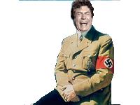 Sticker risitas jesus hitler nazi rire