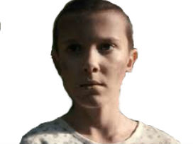 Sticker other stranger things millie eleven