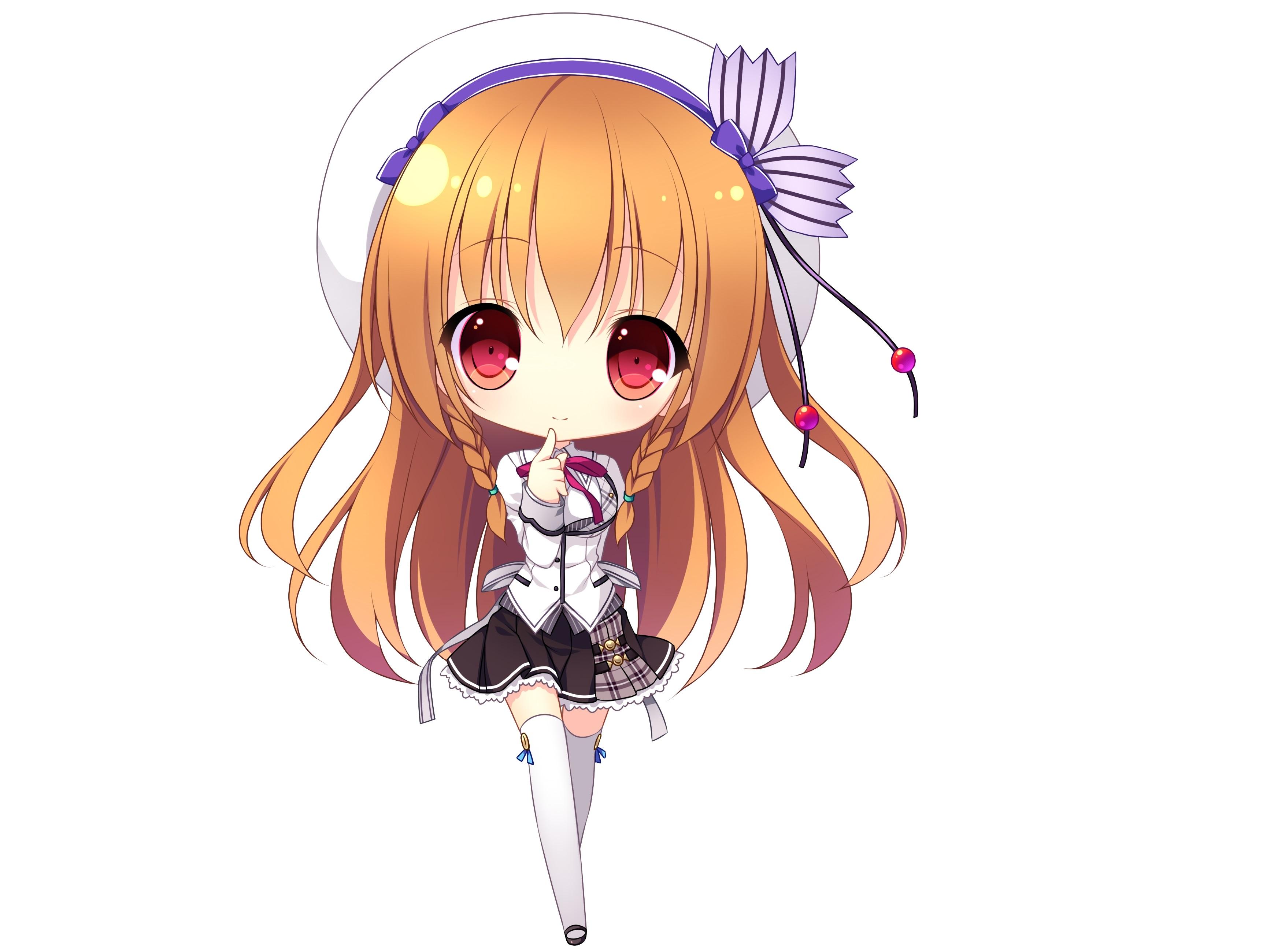 Sticker kikoojap asamiya shiina fille chibi blonde