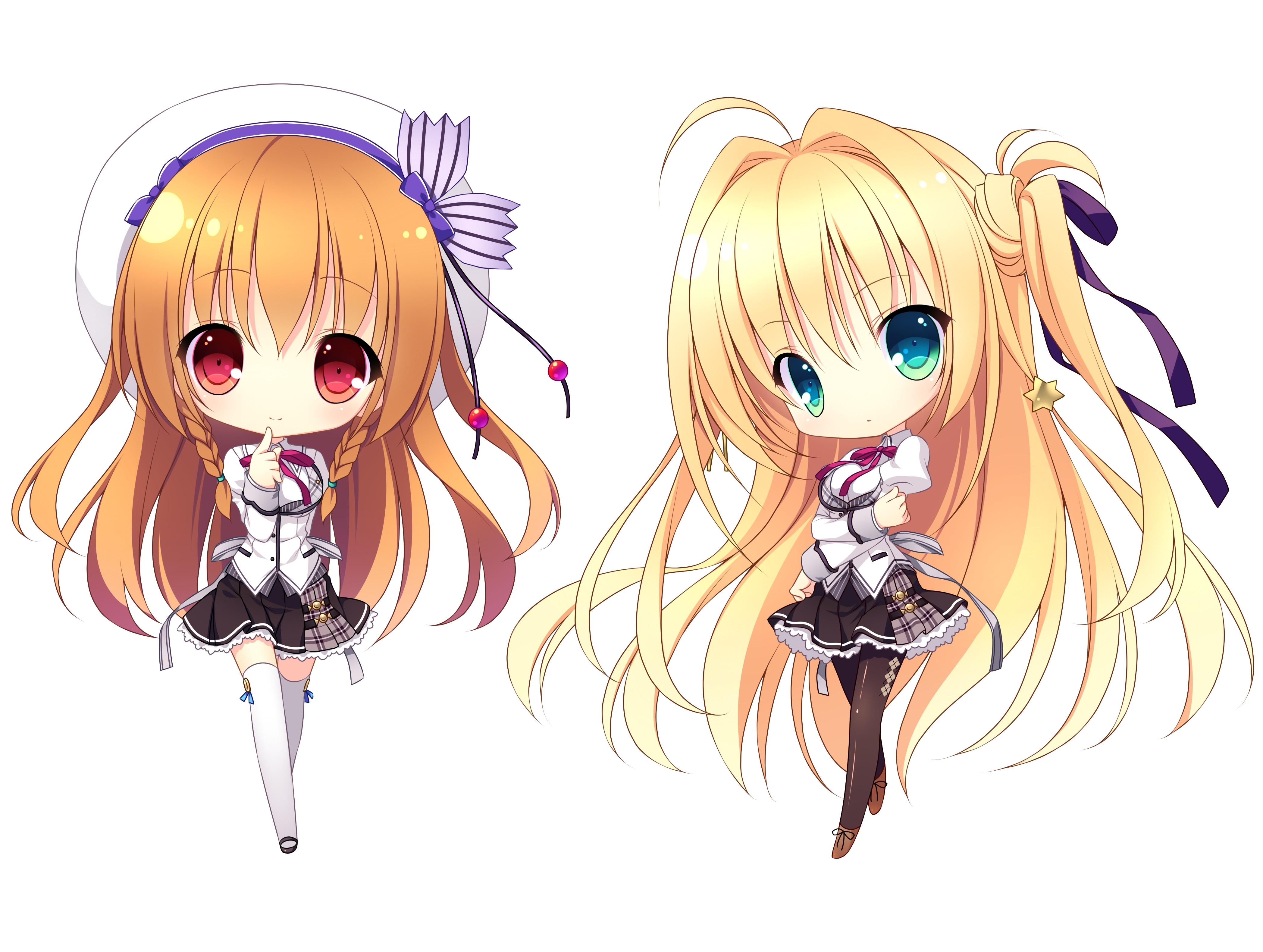 Sticker kikoojap asamiya shiina sakurakouji tsukuyomi fille chibi blonde