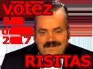 Sticker votez risitas