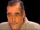 Sticker risitas zemmour doute perplexe troll question what pardon comment pourquoi intriguer perplexe circonspect troll rire sourire coquin taquin deforme mongole triso