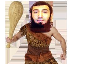 Sticker terroriste islamiste daesh neandertal arabe cro magnon