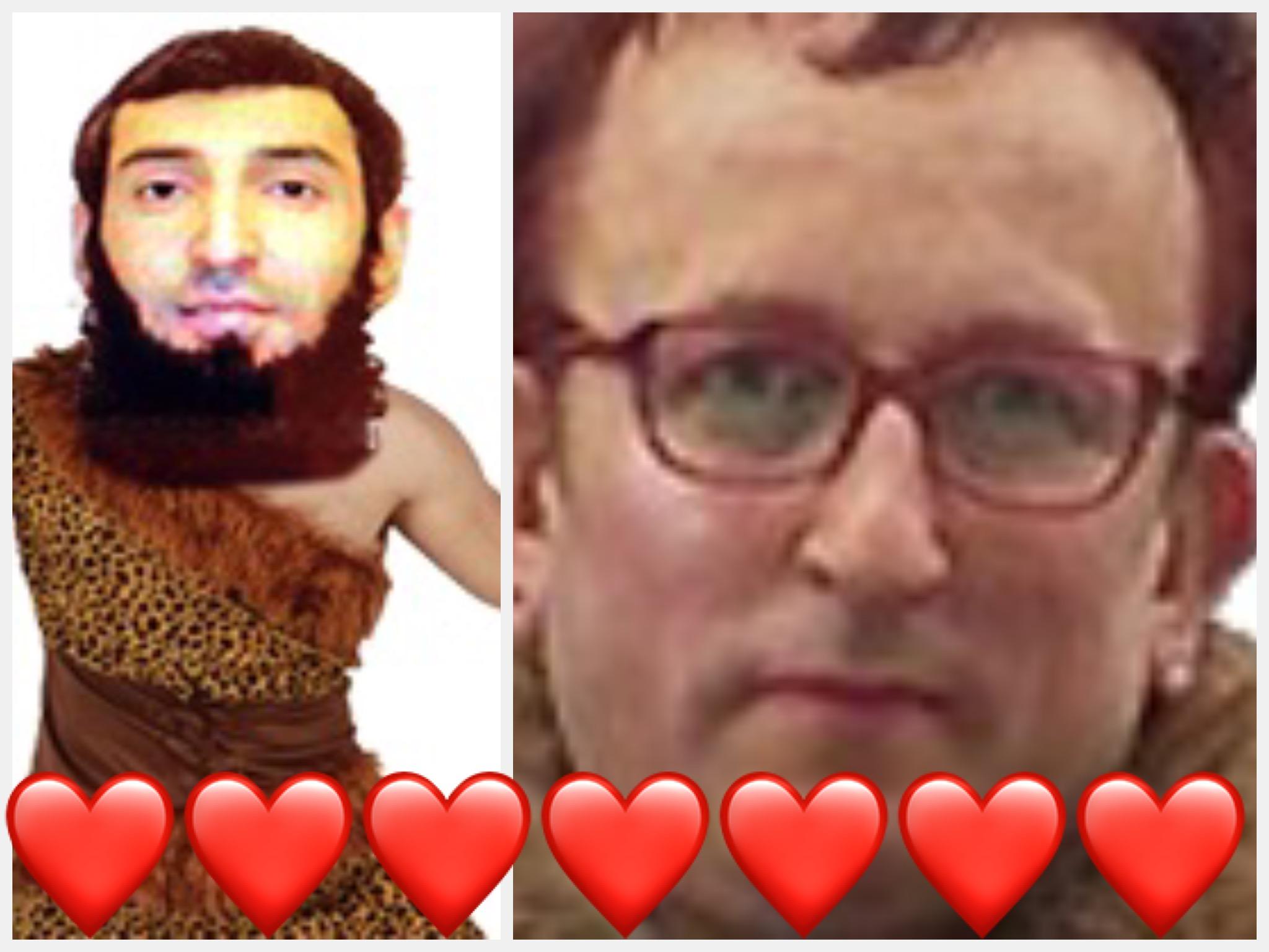 Sticker gauchiste islamiste collabo cuck terroriste e bobo gaucho daesh arabe amour love coeur attentat