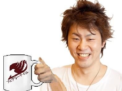Sticker mashima mug tasse fairy tail boire vos larmes les des kikoojaps natsu cafe la souffrance mangaka