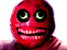 Sticker risitas creepy monstre cancer issou