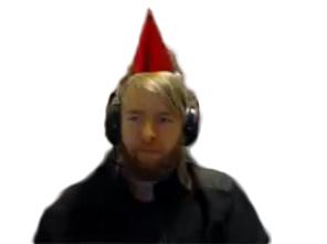 Sticker other unclemarley anniversaire chapeau fete nirukii