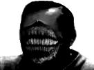 Sticker risitas creepy horreur issou