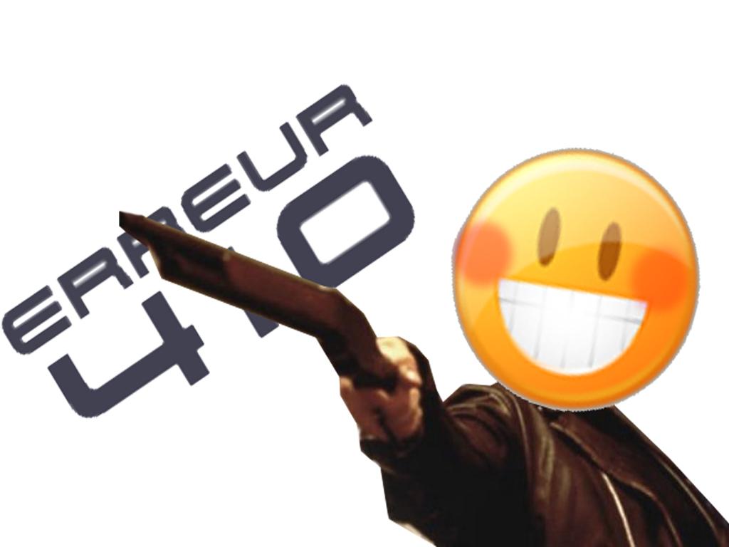 Sticker other terminator 410 erreur