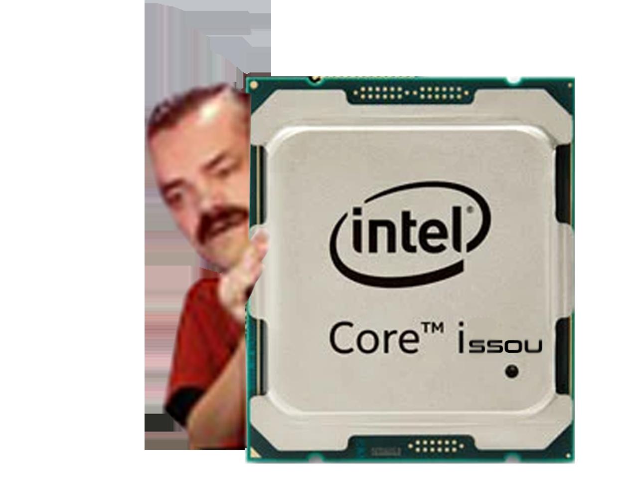 Sticker risitas i7 issou intel core cpu