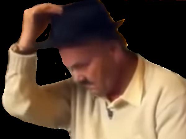 Sticker chapeau michael jackson risitas