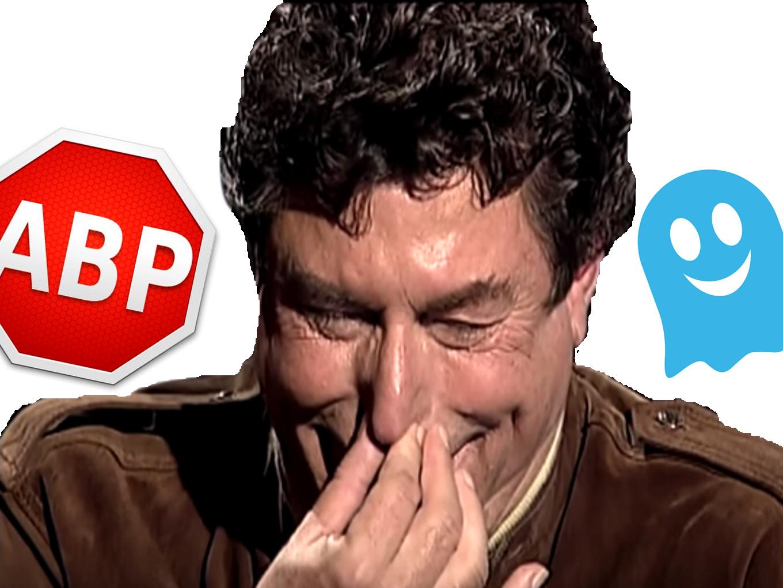 Sticker risitas jesus quintero bloqueurs adblock plus ghostery