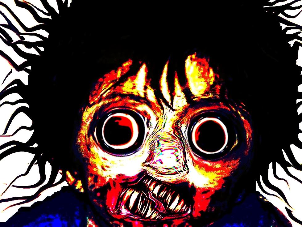 Sticker other creepy horreur monstre omg immonde enfer