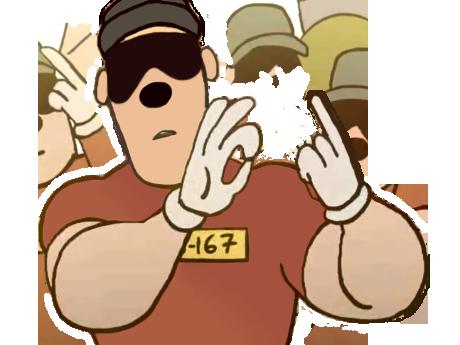 Sticker other qlf qlr que les rapetou lunette mains killerjamme