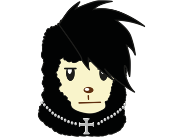 Sticker jvc pour2sucres sticker original lama sasuke