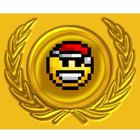 Sticker other rang avn avenoel or noeliste noel golden gold classe elite dore