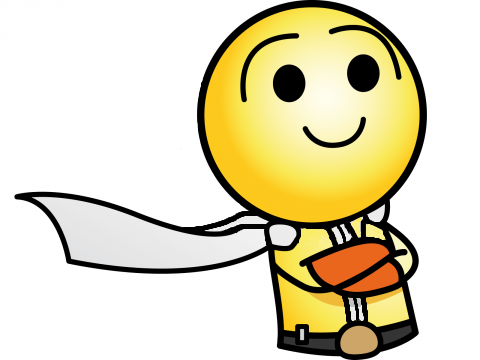 Sticker happiste saitama one punch man cape opm kikoojap jvc